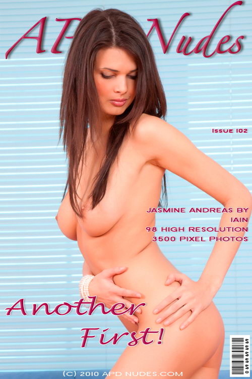 Jasmine Andreas - `#102 - Another First!` - by Iain for APD NUDES