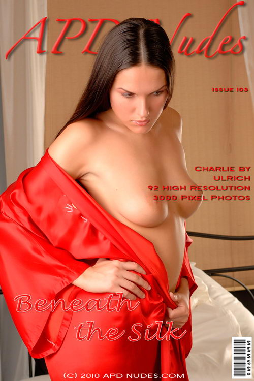 Charlie - `#103 - Beneath The Silk` - by Ulrich for APD NUDES