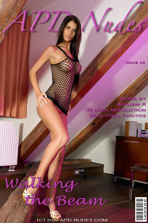 Nessa - `#112 - Walking The Beam` - by William R for APD NUDES