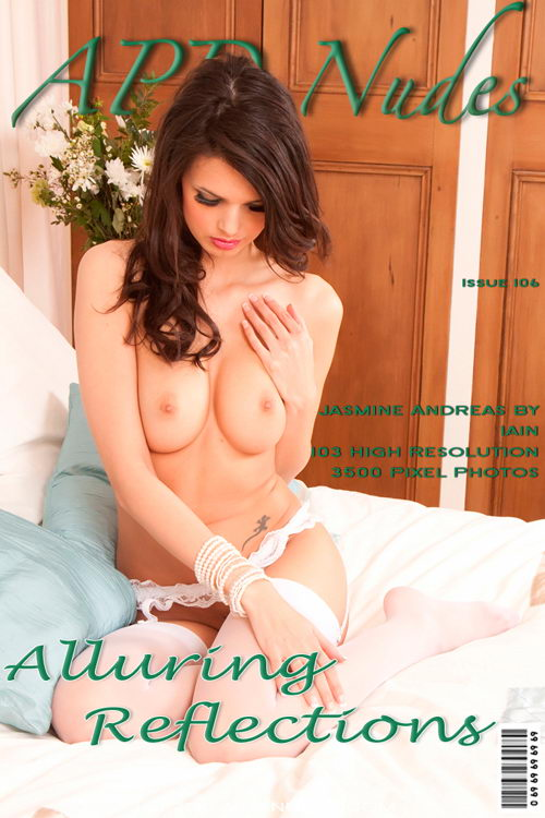 Jasmine Andreas - `#106 - Alluring Reflections` - by Iain for APD NUDES