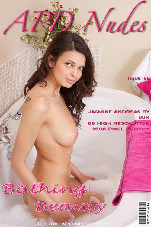 Jasmine Andreas - `#166 - Bathing Beauty` - by Iain for APD NUDES