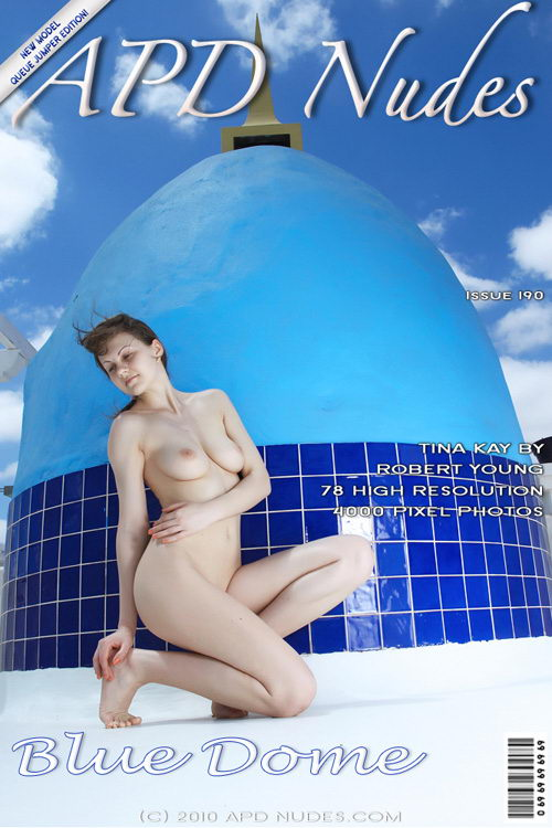 Tina Kay - `#190 - Blue Dome` - by Robert Young for APD NUDES
