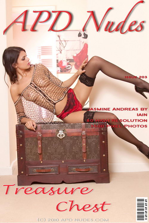 Jasmine Andreas - `#203 - Treasure Chest` - by Iain for APD NUDES