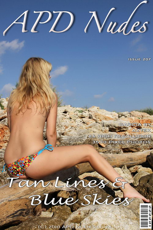 Garcia - `#207 - Tan Lines & Blue Skies` - by Aztek for APD NUDES