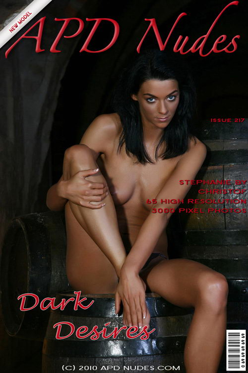 Stephanie - `#217 - Dark Desires` - by Christof for APD NUDES