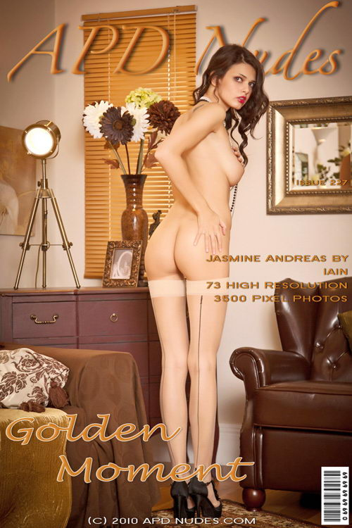 Jasmine Andreas - `#227 - Golden Moment` - by Iain for APD NUDES