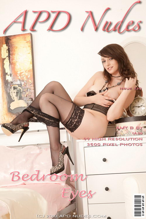 Amy B - `#230 -Bedroom Eyes` - by Iain for APD NUDES