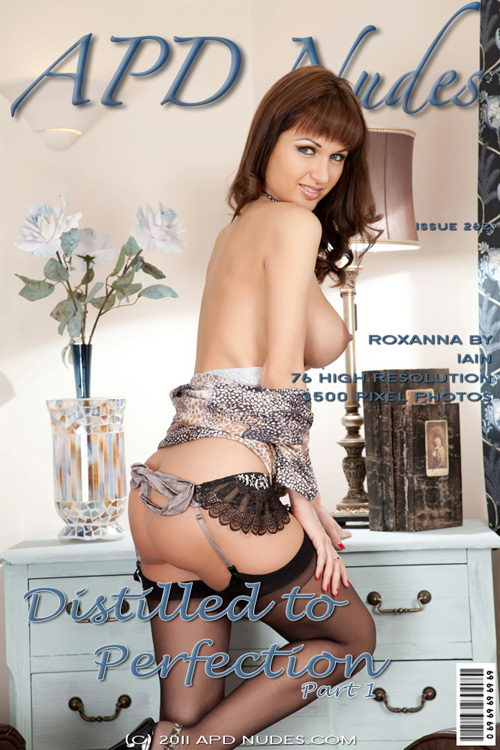 Roxanna - `#262 - Distilled To Perfection - Part 1` - by Iain for APD NUDES