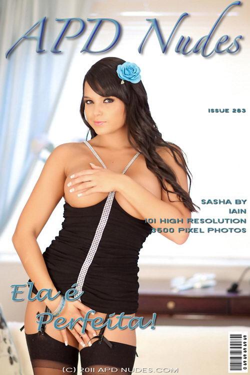 Sasha - `#283 - Ela E Perfeita!` - by Iain for APD NUDES