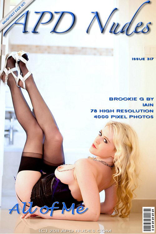 Brookie - `#317 - All Of Me` - by Iain for APD NUDES