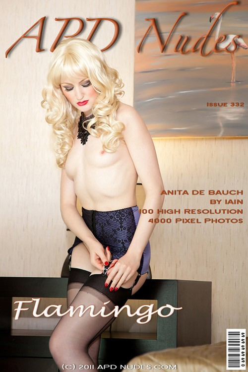 Anita De Bauch - `#332- Flamingo` - by Iain for APD NUDES