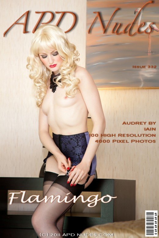 Audrey - `#332 - Flamingo` - by Iain for APD NUDES