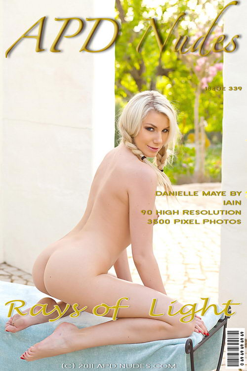 Danielle Maye - `#339 - Rays Of Light` - by Iain for APD NUDES