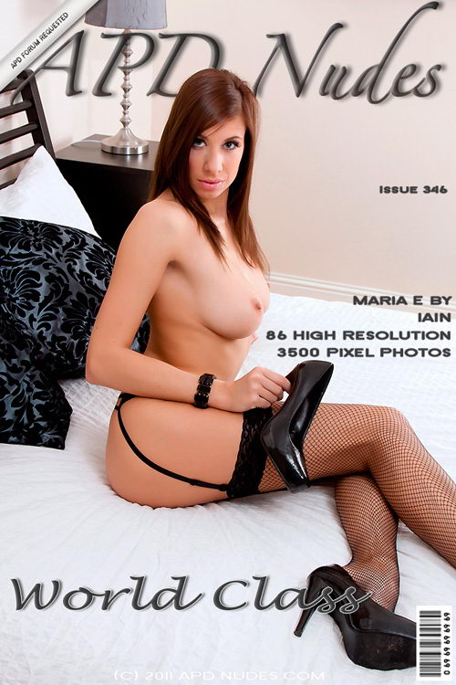 Maria E - `#346 - World Class` - by Iain for APD NUDES