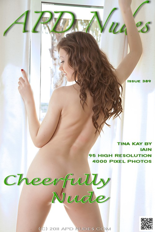 Tina Kay - `#389 - Cheerfully Nude` - by Iain for APD NUDES