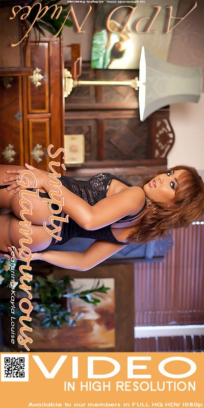 Kayla Louise - `Simply Glamourous` - by Iain for APD NUDES