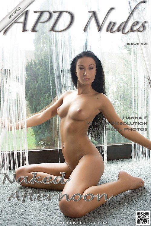 Hanna F - `#421 - Naked Afternoon` - by Iain for APD NUDES