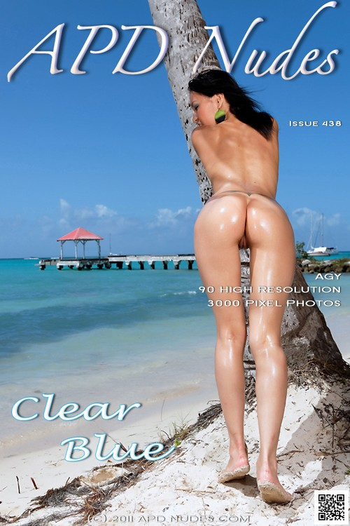 Agy - `#438 - Clear Blue` - by Iain for APD NUDES