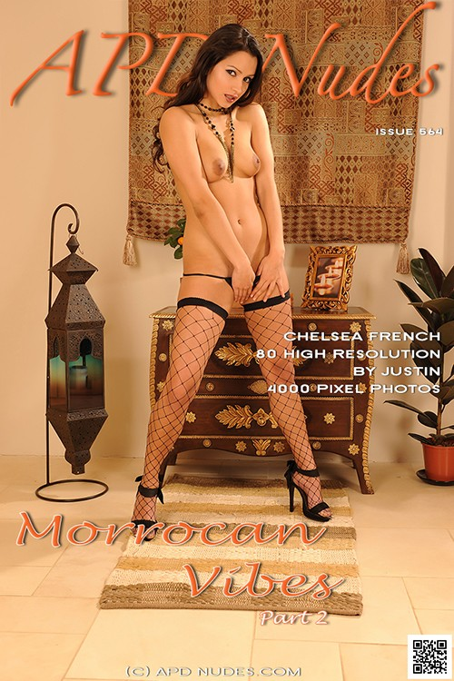 Chelsea French - `#564 - Morrocan Vibes - Part 2` - by Justin Bloom for APD NUDES