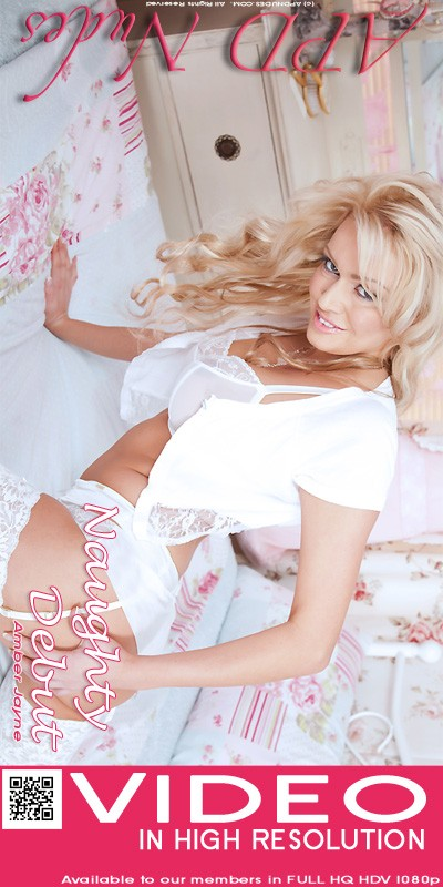 Amber Jayne - `Naughty Debut` - by Iain for APD NUDES