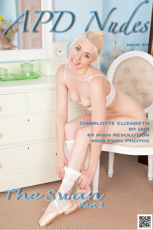 Charlotte Elizabeth - `#475 - The Swan - Part 2` - by Iain for APD NUDES