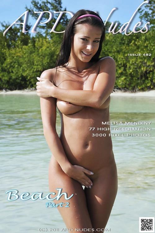 Melisa Mendiny - `#482 - Beach - Part 2` - by Iain for APD NUDES