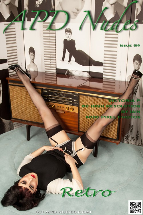 Victoria P - `#519 - Retro` - by Iain for APD NUDES