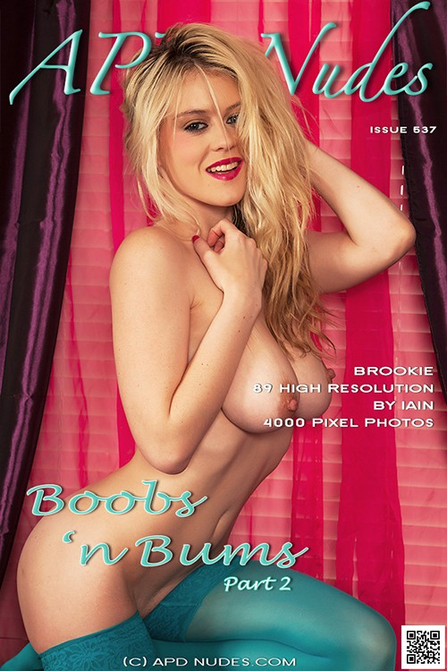 Brookie - `#537 - Boobs 'n Bums - Part 2` - by Iain for APD NUDES