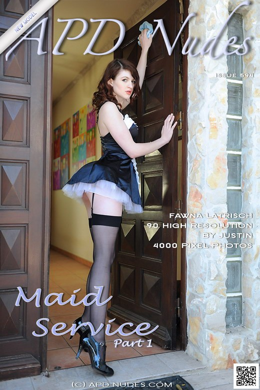 Fawna Latrisch - `#594 - Maid Service - Part 1` - by Justin Bloom for APD NUDES