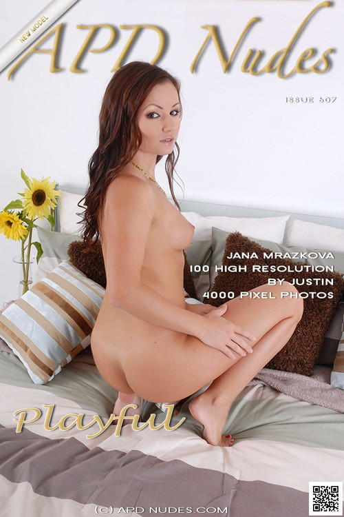 Jana Mrazkova - `#607 - Playful` - by Justin Bloom for APD NUDES