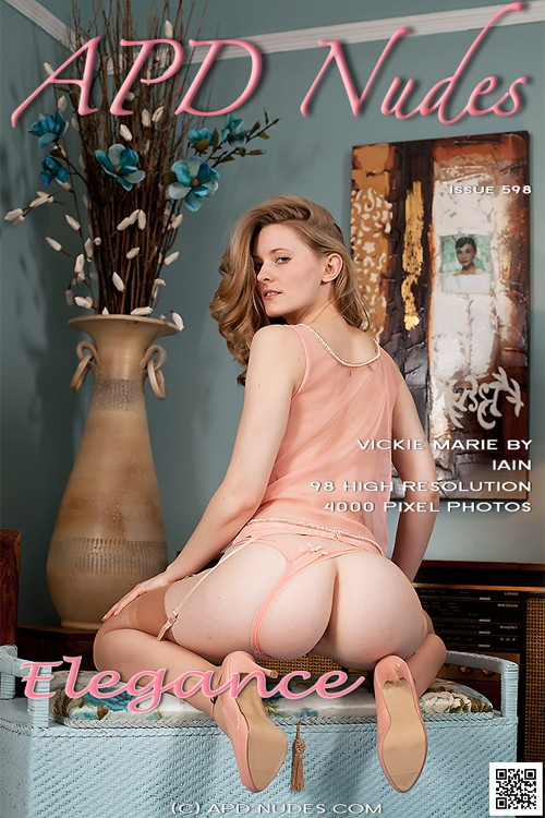 Vickie Marie - `#598 - Elegance` - by Iain for APD NUDES