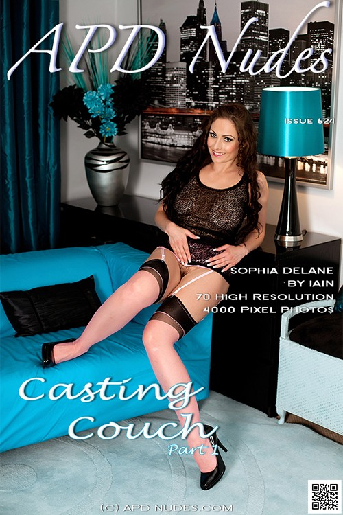 Sophia Delane - `#624 - Casting Couch - Part 1` - by Iain for APD NUDES
