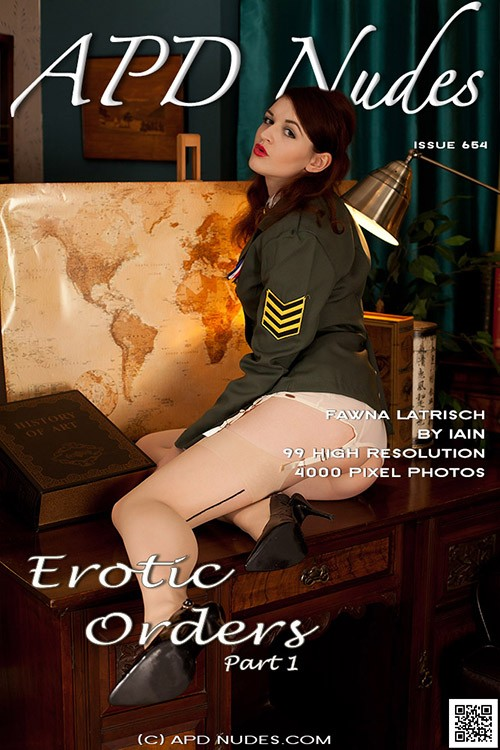 Fawna Latrisch - `#654 - Erotic Orders - Part 1` - by Iain for APD NUDES