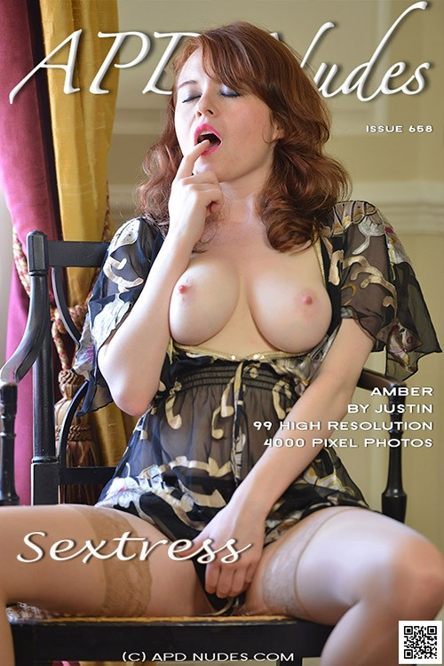 Amber - `#658 - Sextress` - by Justin Bloom for APD NUDES