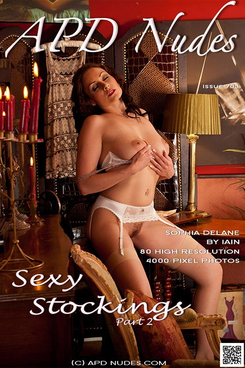 Sophia Delane - `#703 - Sexy Stockings - Part 2` - by Iain for APD NUDES