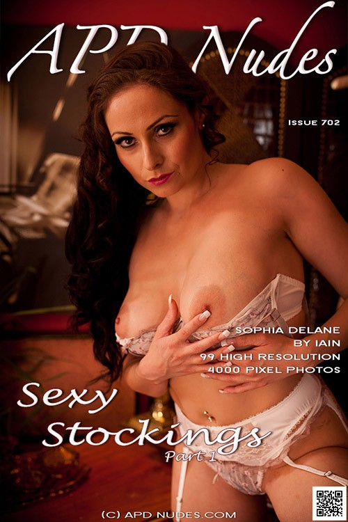 Sophia Delane - `#702 - Sexy Stockings - Part 1` - by Iain for APD NUDES