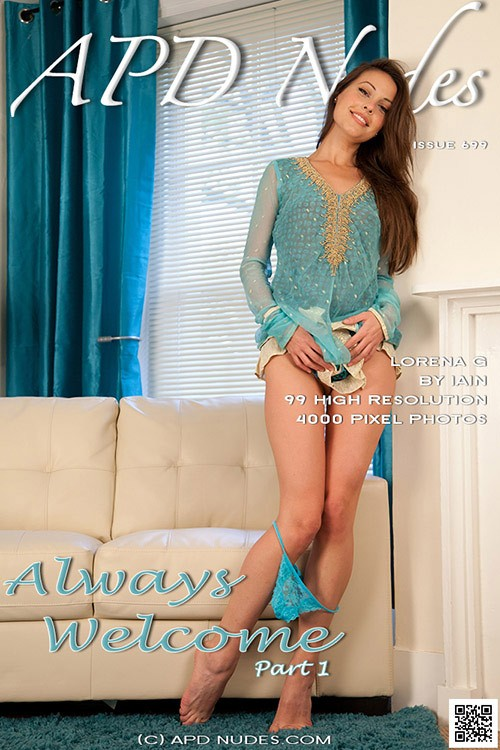 Lorena G - `#699 - Always Welcome - Part 1` - by Iain for APD NUDES