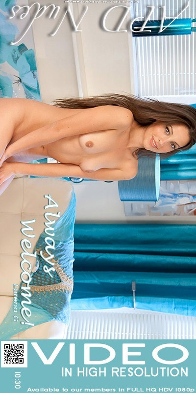 Lorena G - `Always Welcome!` - by Iain for APD NUDES