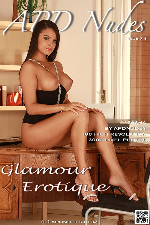 Sasha - `#718 - Glamour Erotique` - by Iain for APD NUDES