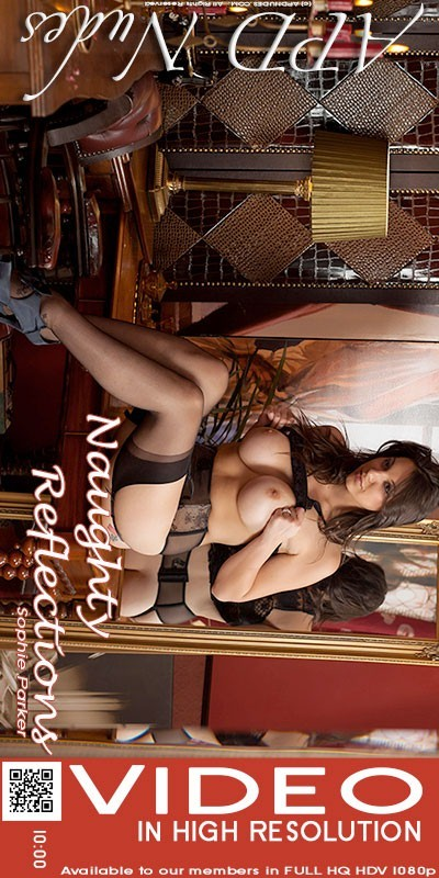 Sophie Parker - `Naughty Reflections` - by Iain for APD NUDES