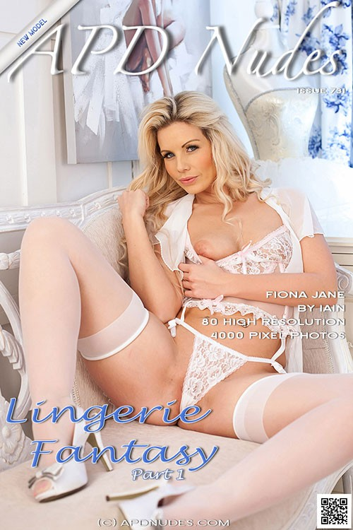 Fiona Jane - `#731 - Lingerie Fantasy - Part 1` - by Iain for APD NUDES