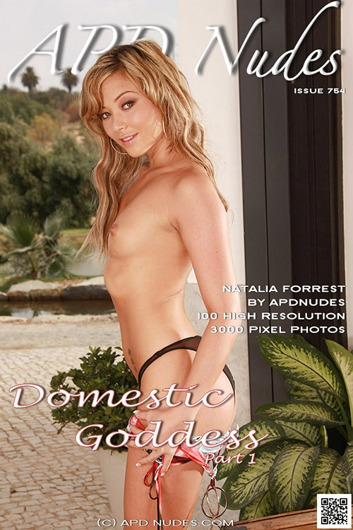 Natalia Forrest - `#754 - Domestic Goddess - Part 1` - by Iain for APD NUDES