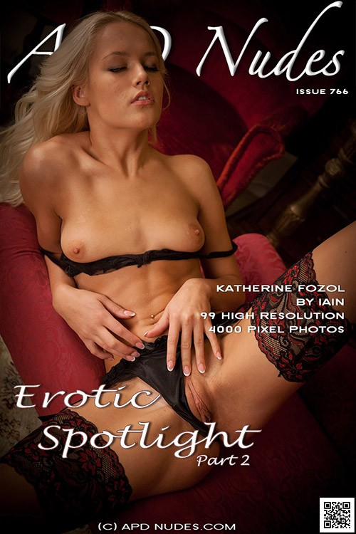 Katherine Fozol - `#766 - Erotic Spotlight - Part 2` - by Iain for APD NUDES