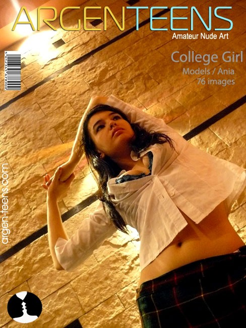 Ania - `College Girl` - for ARGEN-TEENS