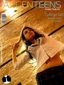 Ania in College Girl gallery from ARGEN-TEENS