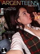 Ania in College Girl 2 gallery from ARGEN-TEENS