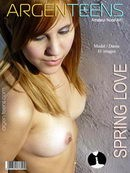 Dania in Spring Love gallery from ARGEN-TEENS
