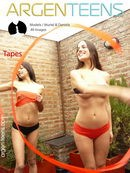 Muriel & Dania in Tapes gallery from ARGEN-TEENS