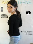 Sabrina in Casting gallery from ARGEN-TEENS