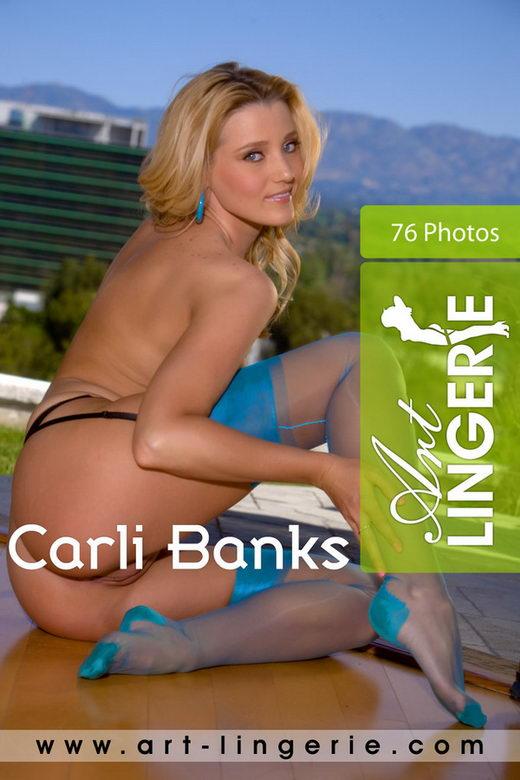 Carli Banks - for ART-LINGERIE